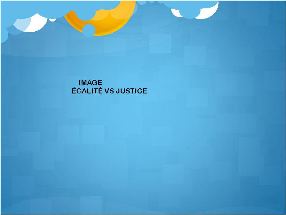 IMAGE ÉGALITÉ VS JUSTICE