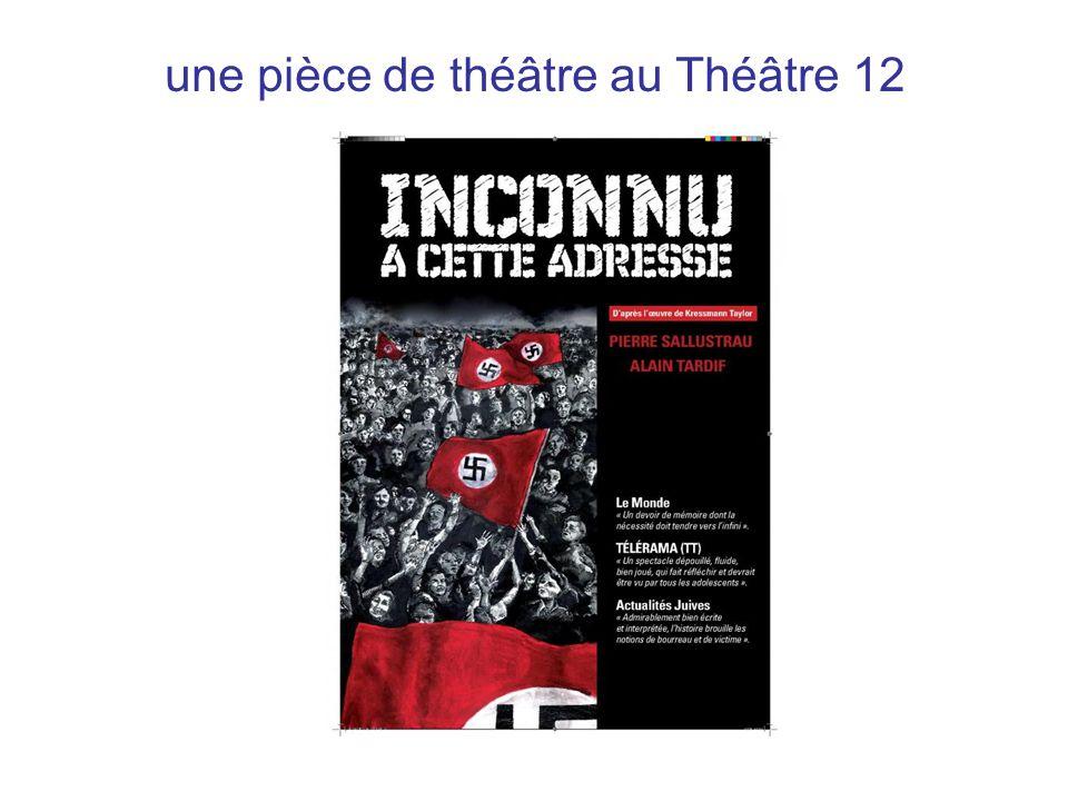 une pièce de théâtre au Théâtre 12