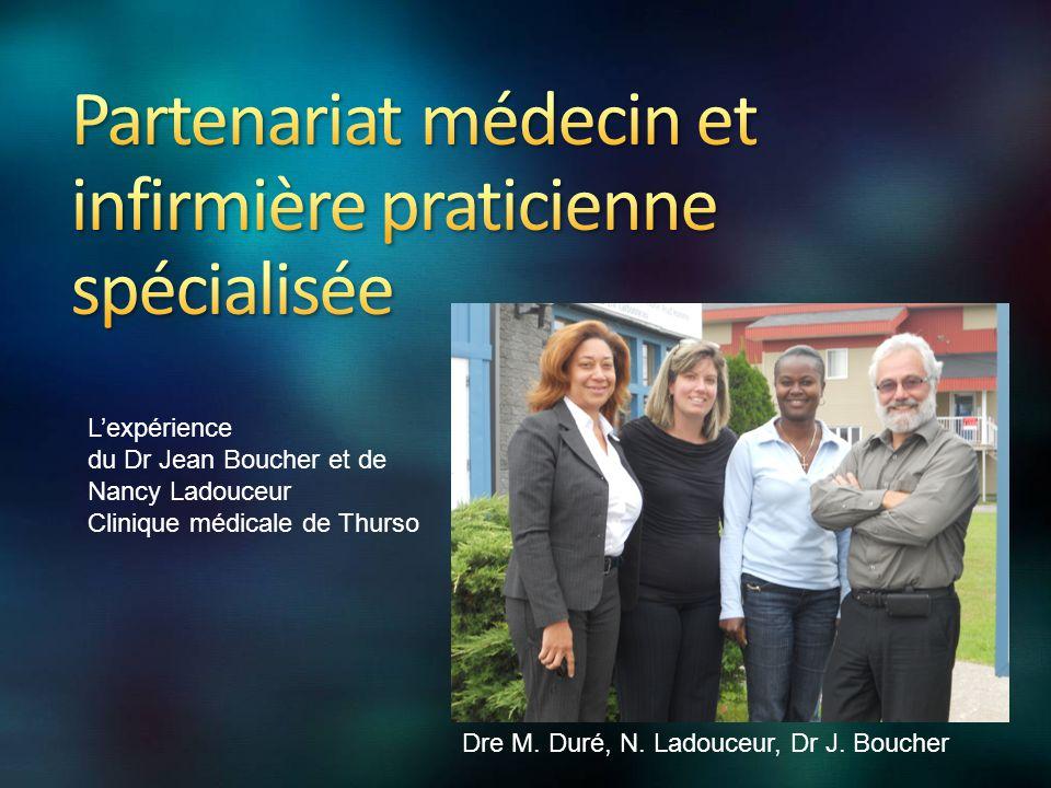 Dre M. Duré, N. Ladouceur, Dr J.