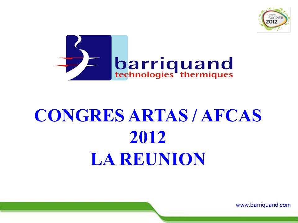 www.barriquand.com CONGRES ARTAS / AFCAS 2012 LA REUNION