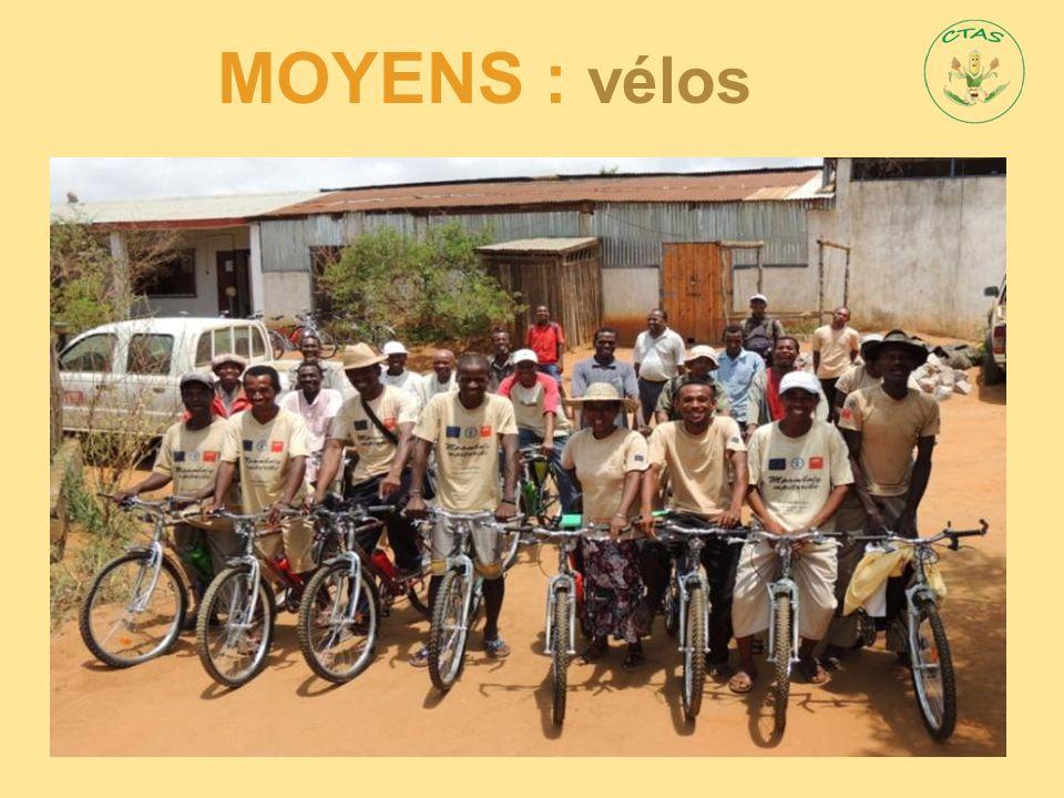 MOYENS : vélos