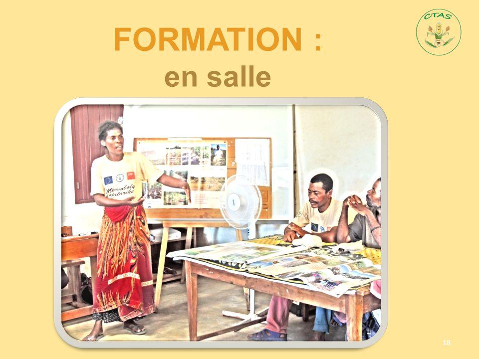FORMATION : en salle 18