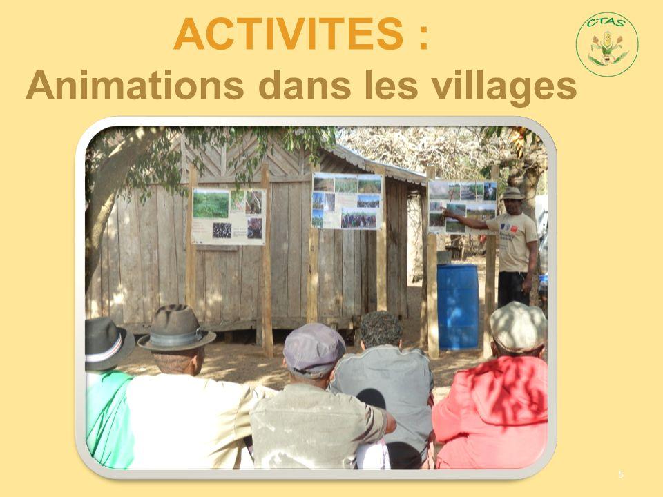 ACTIVITES : Animations dans les villages 5