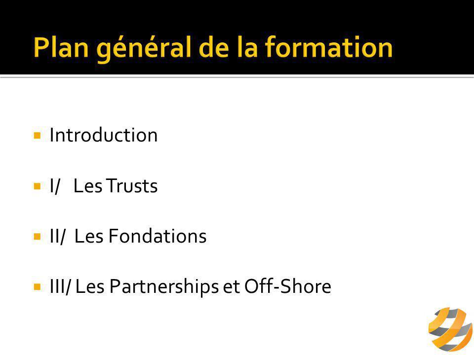  A/ Définition  B/ Fonctionnement de la Fondation  C/ L'intérêt de la Fondation