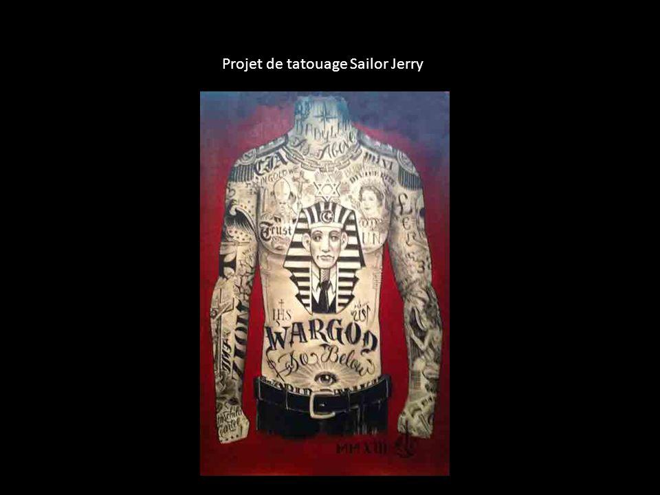 Projet de t Projet de tatouage Sailor Jerry