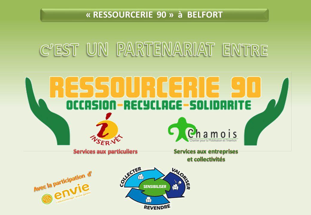 « RESSOURCERIE 90 » à BELFORT