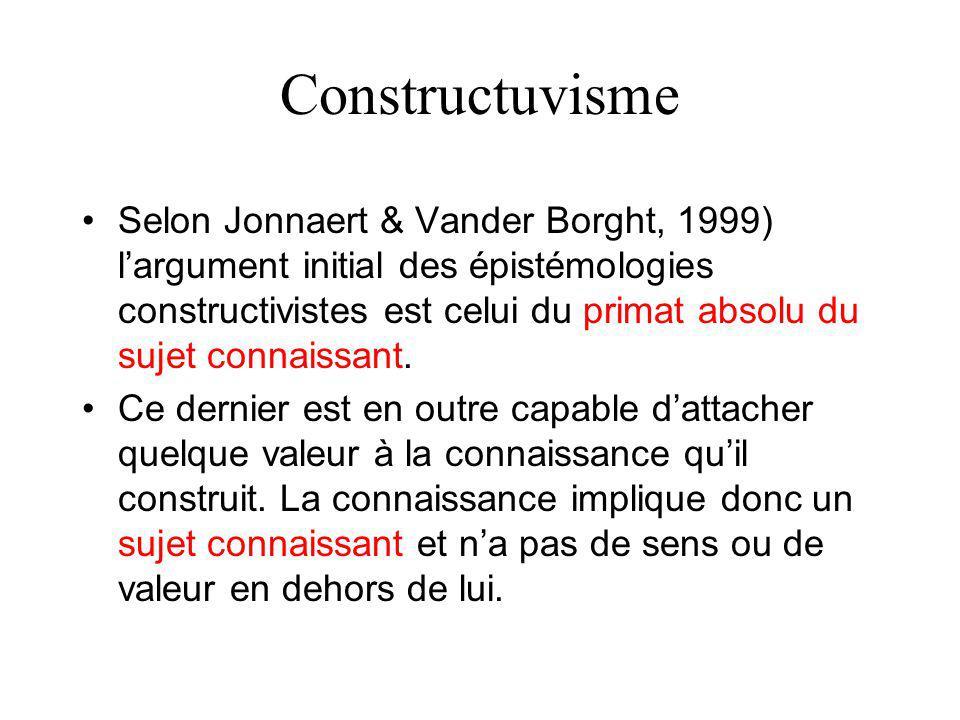 Apprentissage et socioconstructiviste 1.