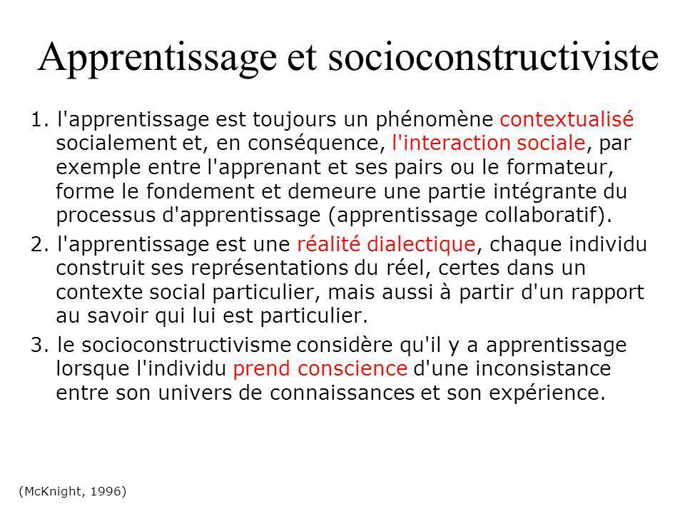 Les représentations (conceptions) instruments cognitifs d appréhension de la réalité et d orientation des conduites.