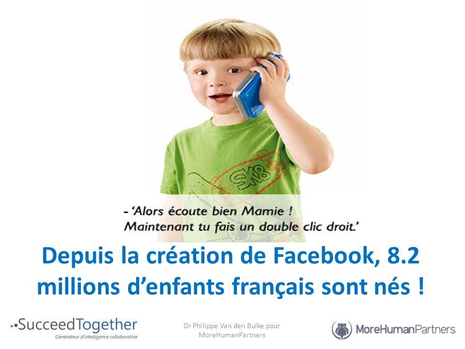 Depuis la création de Facebook, 8.2 millions d'enfants français sont nés !