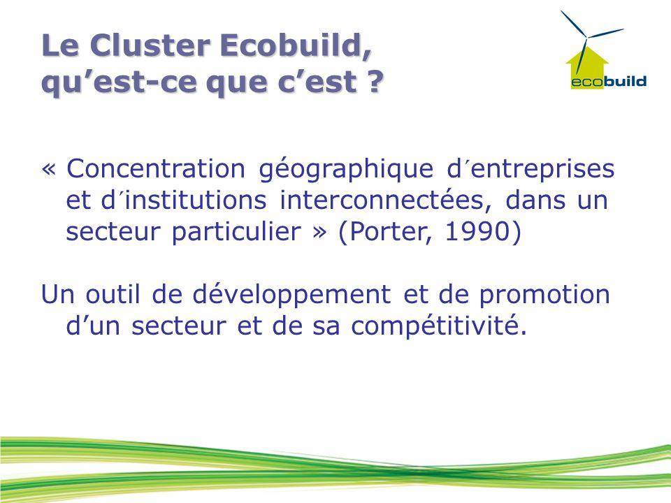 Le Cluster Ecobuild, qu'est-ce que c'est .