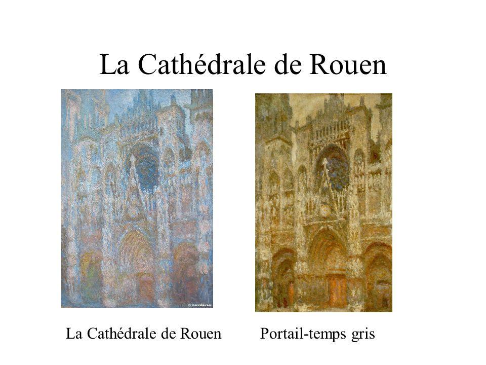 La Cathédrale de Rouen Portail-temps grisLa Cathédrale de Rouen