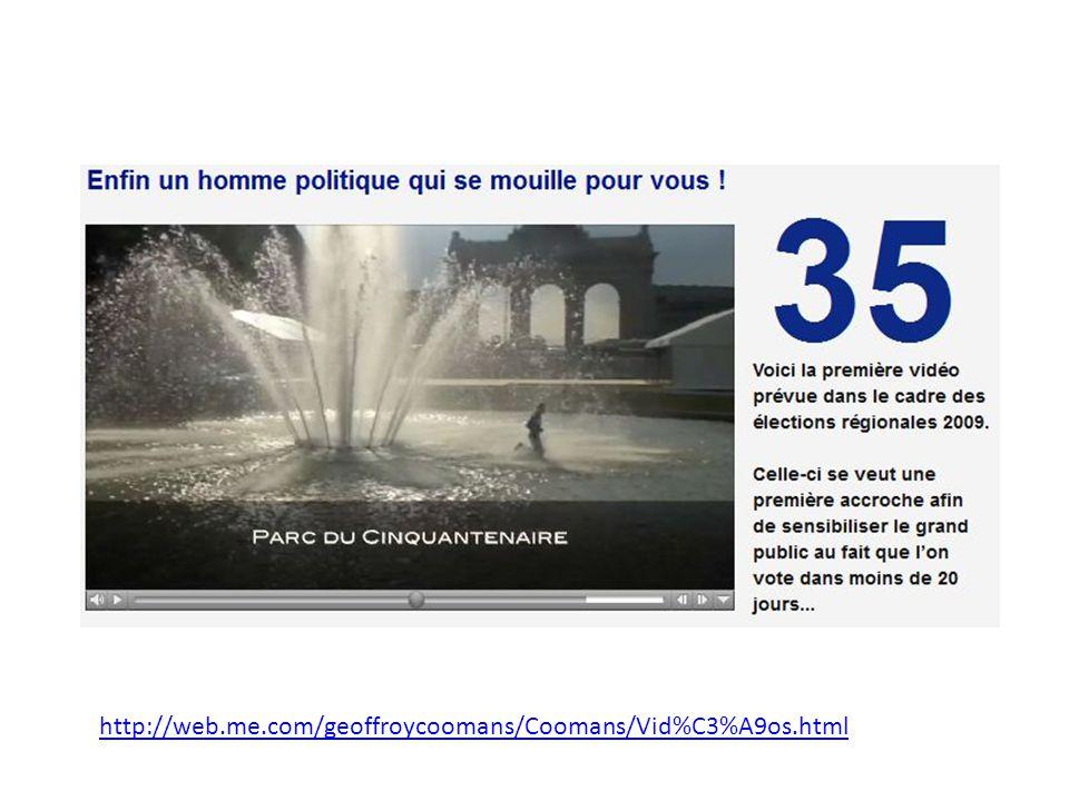 http://web.me.com/geoffroycoomans/Coomans/Vid%C3%A9os.html