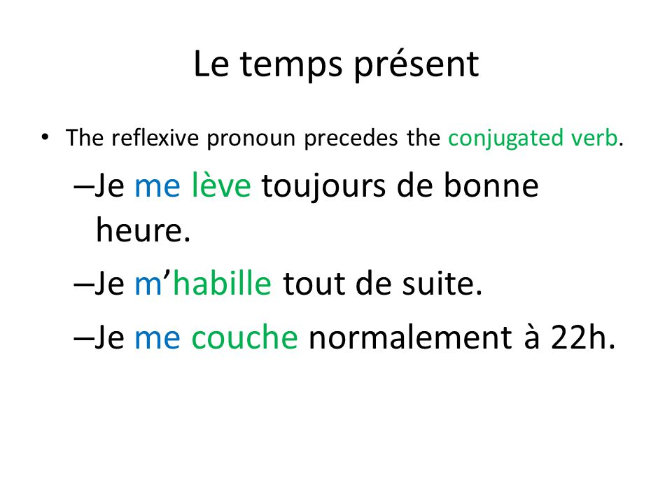 Interrogatif avec un terme interrogatif When forming questions with an interrogative term, use est-ce que and simply add the term to the beginning of the question.