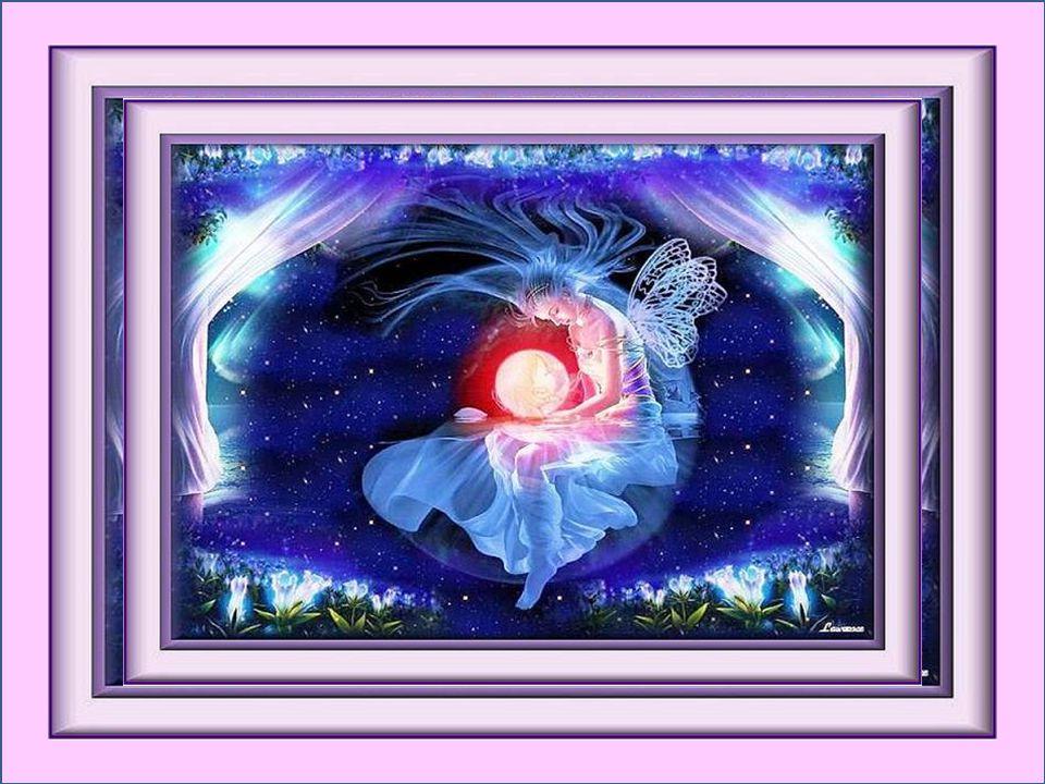 La clarté s'endort sur la rivière; Les fleurs se courbent une à une; La vie se vit d'une façon particulière Et ce soir je danse sur la lune… Ginette T
