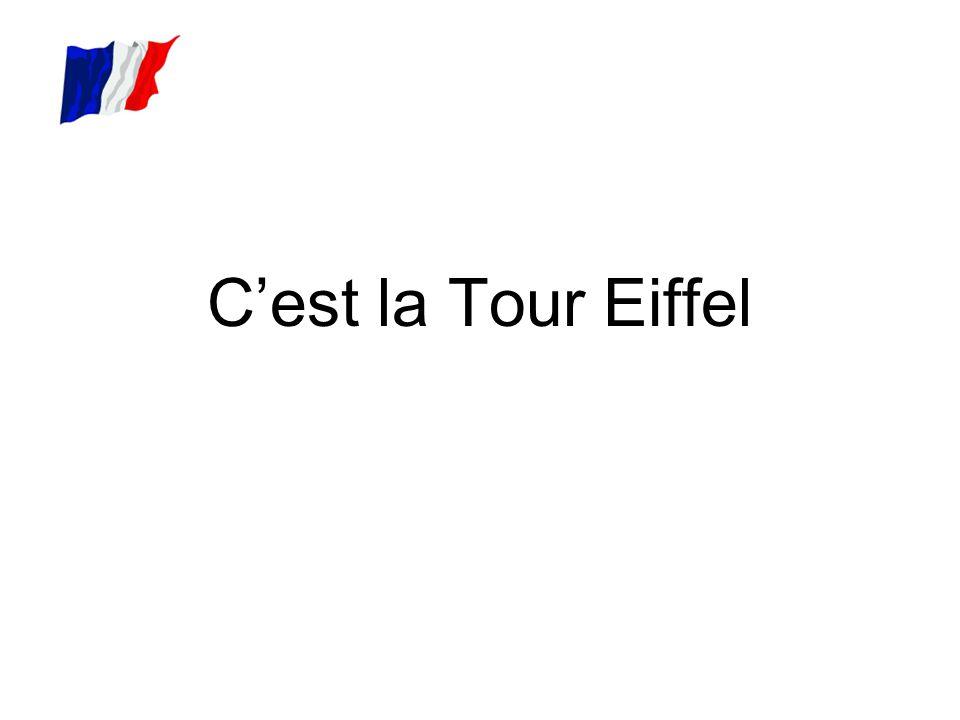 C'est la Tour Eiffel