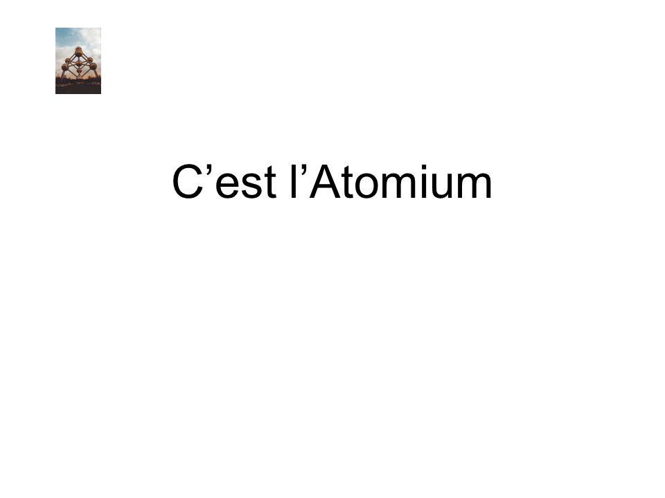 C'est l'Atomium