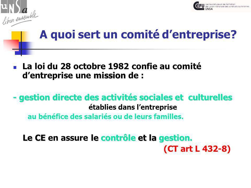 Les attributions économiques La formation 6.