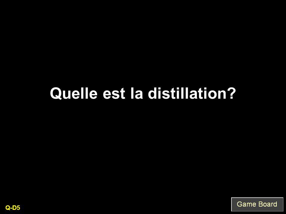Quelle est la distillation Q-D5