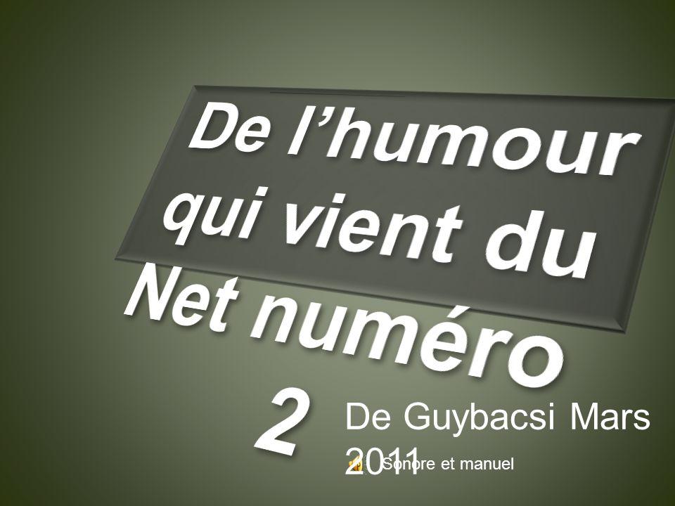 Sonore et manuel De Guybacsi Mars 2011