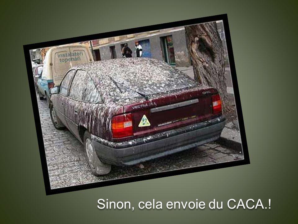 Sinon, cela envoie du CACA.!