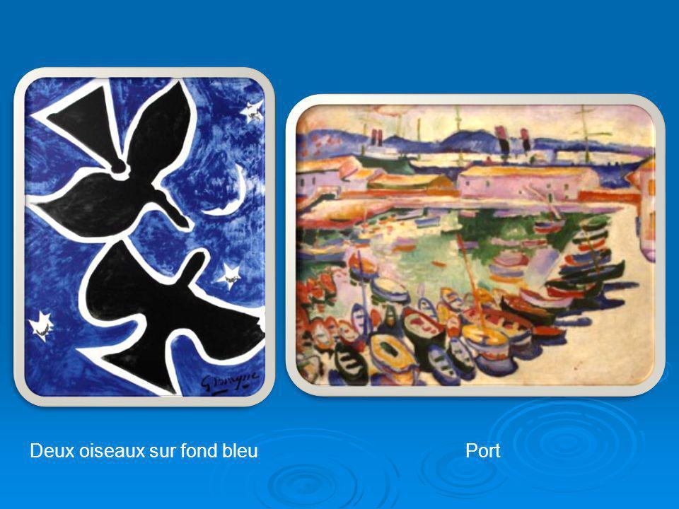 La fin de sa vie Marine Les barques Georges Braque meurt à Paris le 31 août 1963 au sommet d une brillante et glorieuse carrière.