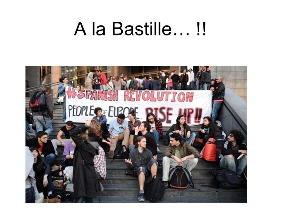 A la Bastille… !!