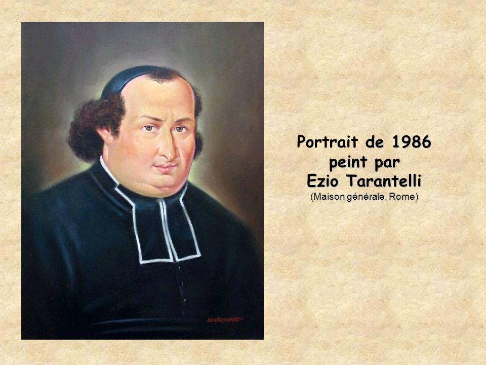de 1986 peint par Ezio Tarantelli (Maison générale, Rome) Portrait de 1986 peint par Ezio Tarantelli (Maison générale, Rome)