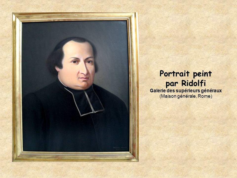 Portrait peint par Ridolfi Galerie des supérieurs généraux (Maison générale, Rome)