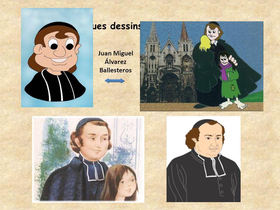 Quelques dessins pour les jeunes Juan Miguel Álvarez Ballesteros