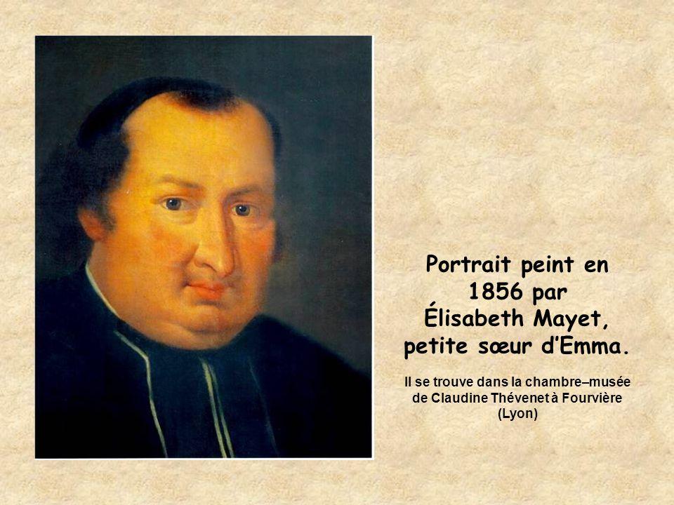 Portrait peint en 1856 par Élisabeth Mayet.