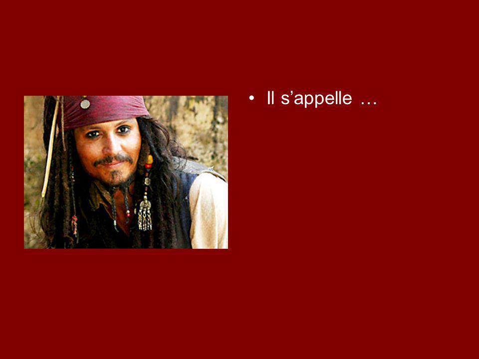 Il s'appelle Johnny Depp Il est …