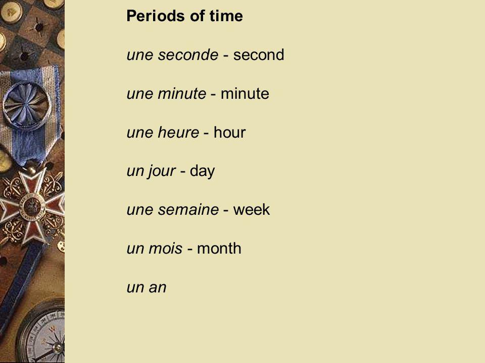  Pratiquez Il est sept heures du matin.  Il est une heure du matin.