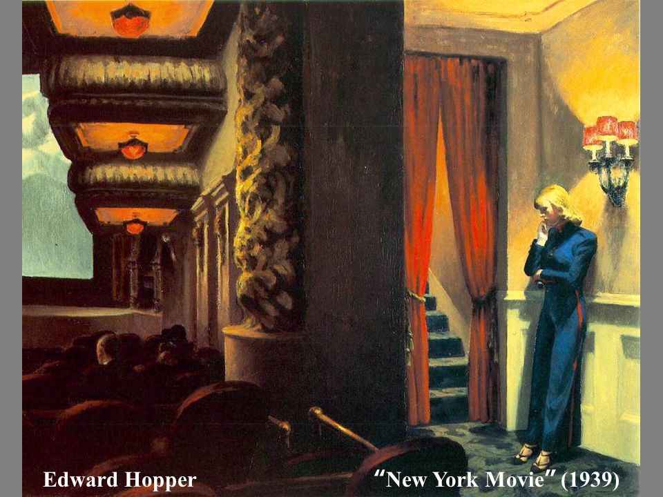 "Edward Hopper "" New York Movie "" (1939)"