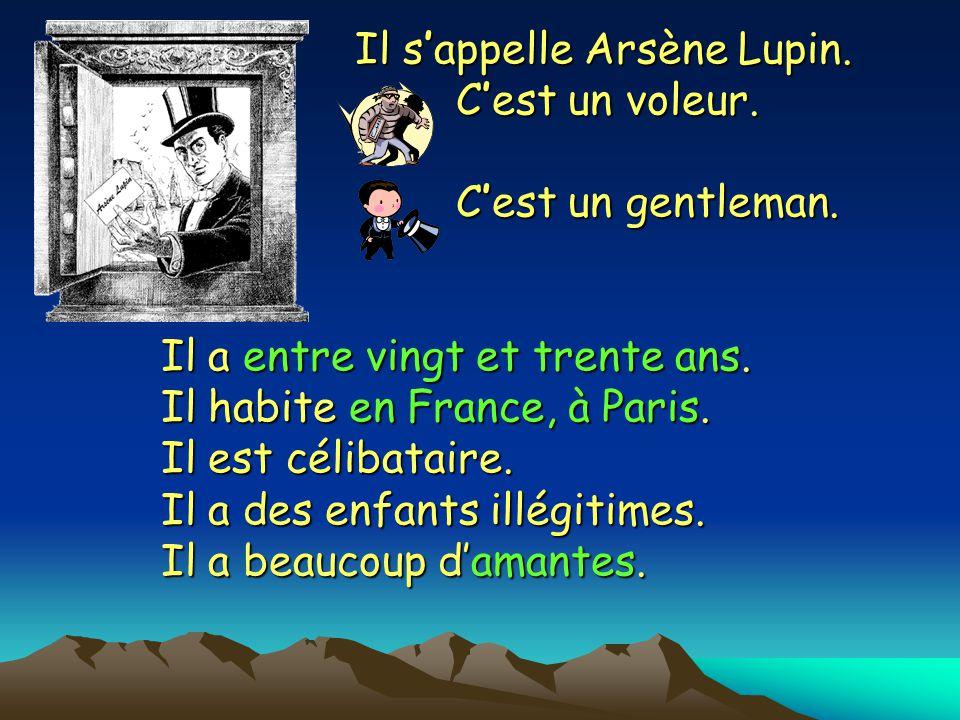 Arsène Lupin Sam Sam Sean Sean Simon Simon Roger Roger Jacques Jacques
