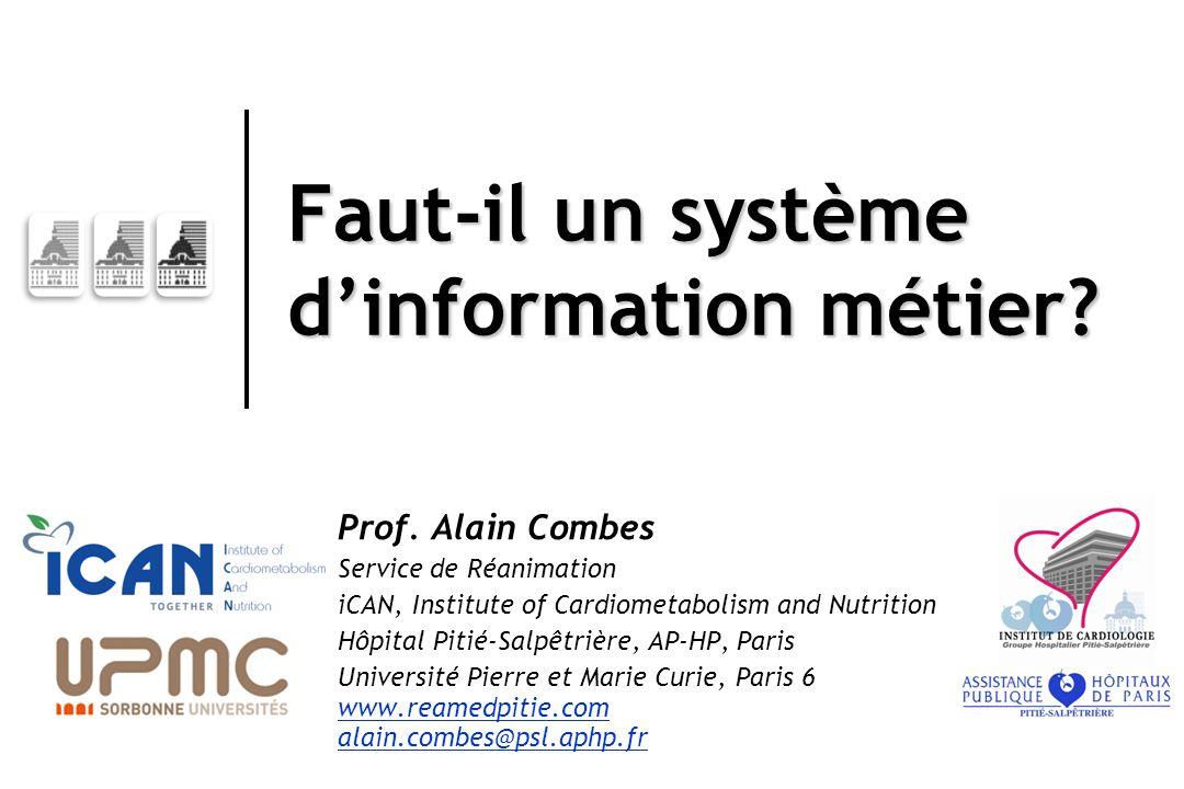 Faut-il un système d'information métier. Prof.