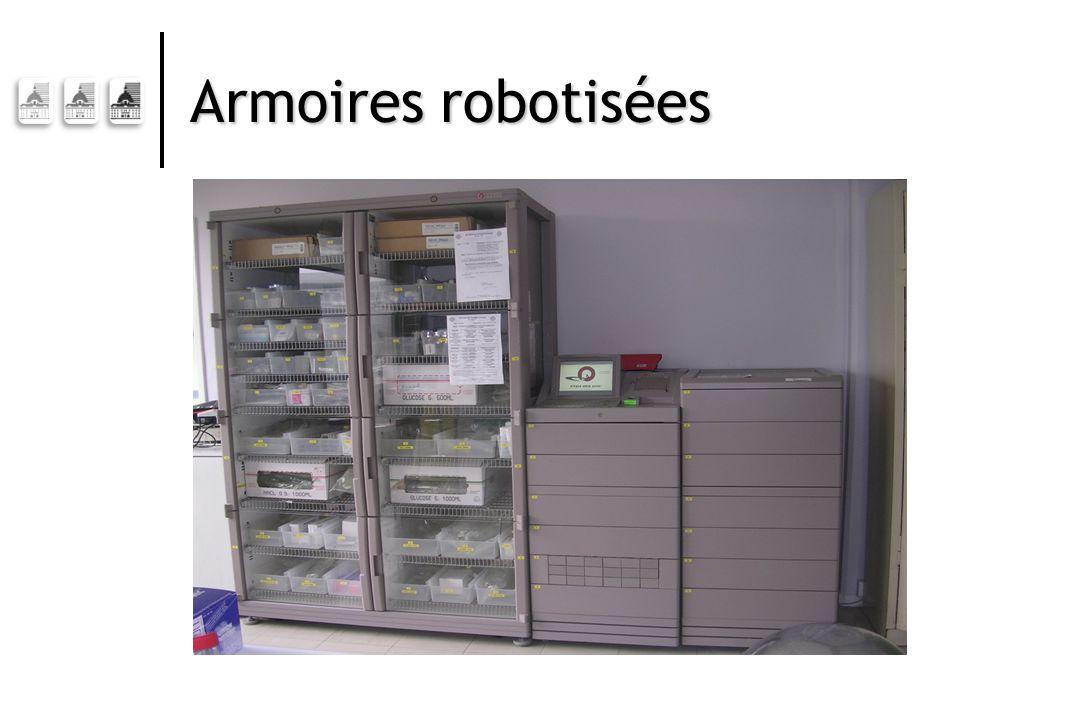 Armoires robotisées