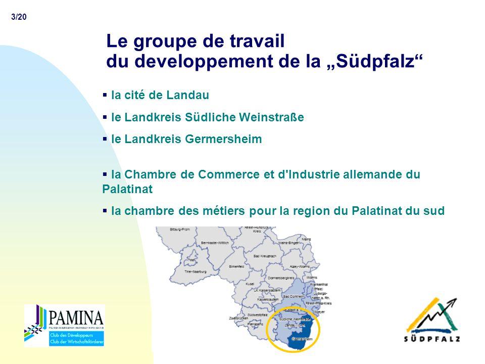 4/20 CLUB DES DEVELOPPEURS PAMINA Utworzenie Klubu Deweloperów PAMINA Création du Club des Développeurs PAMINA Radni i dyrektorzy firm obradujący podczas Forum gospodarczego w Wissembourgu w 1997 roku podjeli decyzje o utworzeniu Klubu Developerów PAMINA.