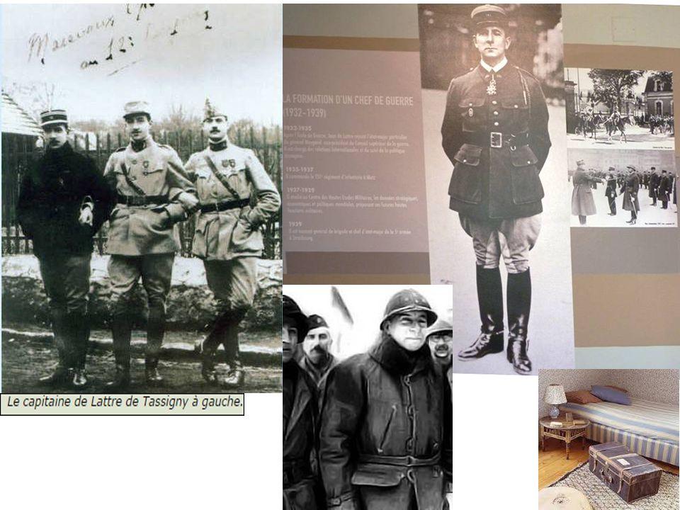 De 1927 à 1929 il suit les cours de l école de guerre avec la 49e promotion.