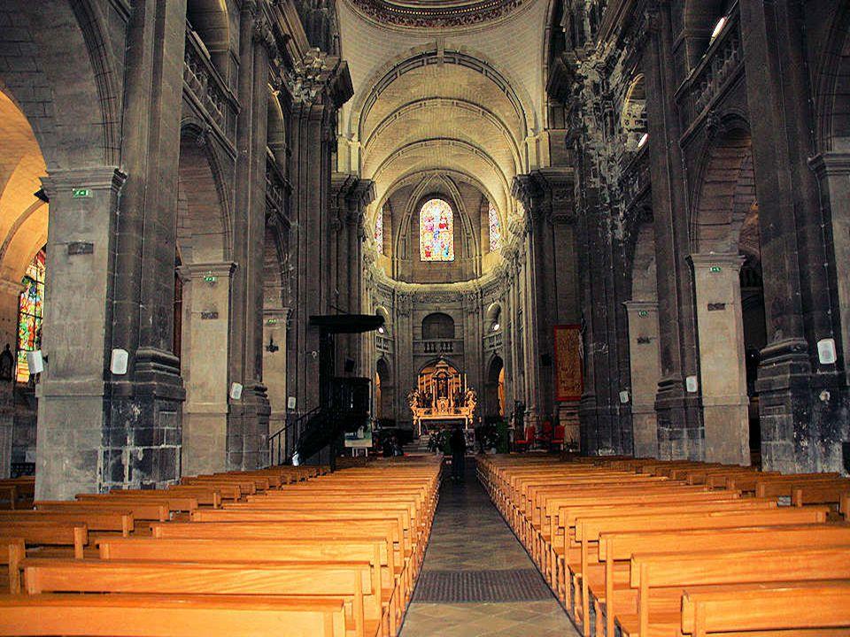 Façade ouest de la cathédrale
