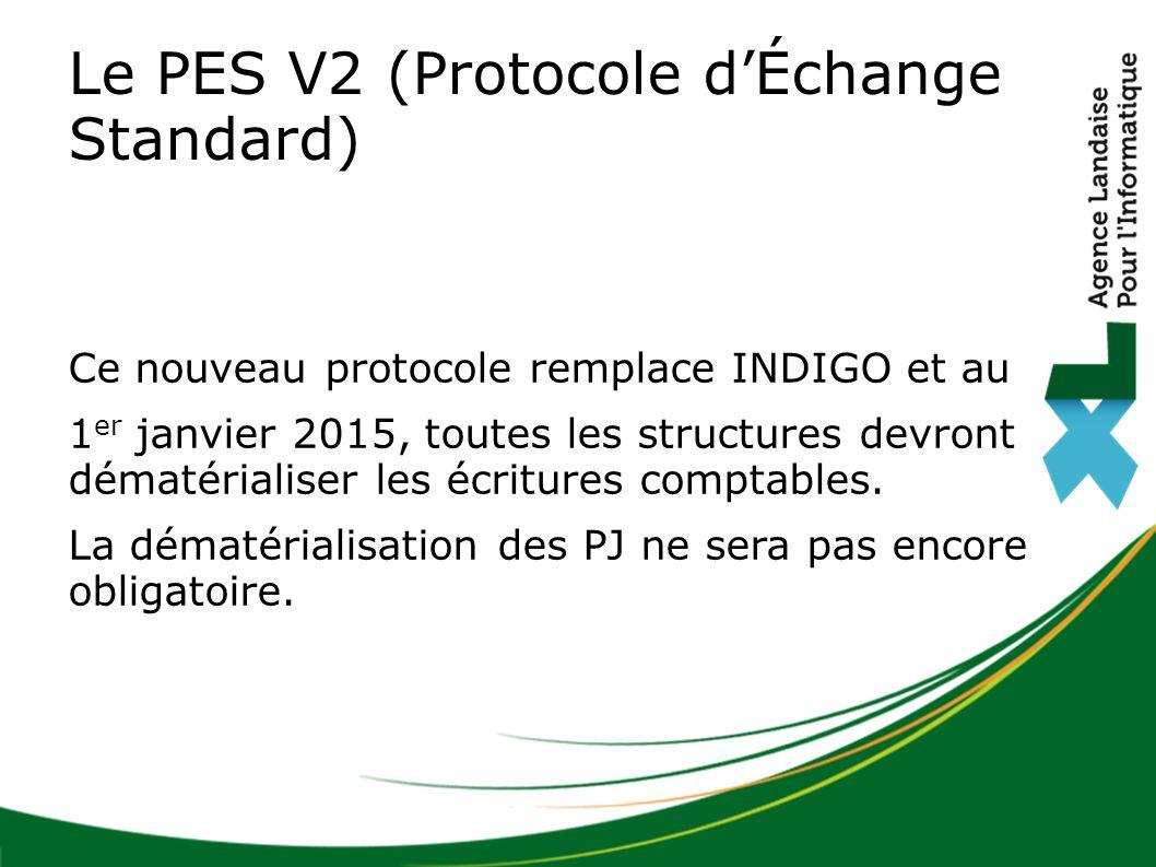 Ce nouveau protocole remplace INDIGO et au 1 er janvier 2015, toutes les structures devront dématérialiser les écritures comptables. La dématérialisat