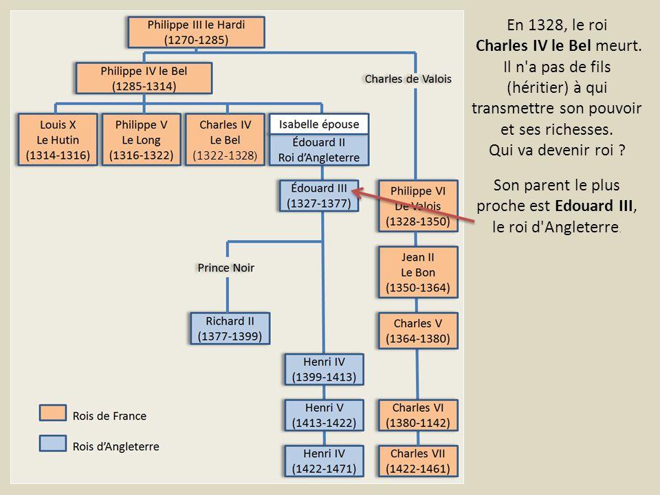 En 1356, la guerre reprend avec la bataille de Poitiers.