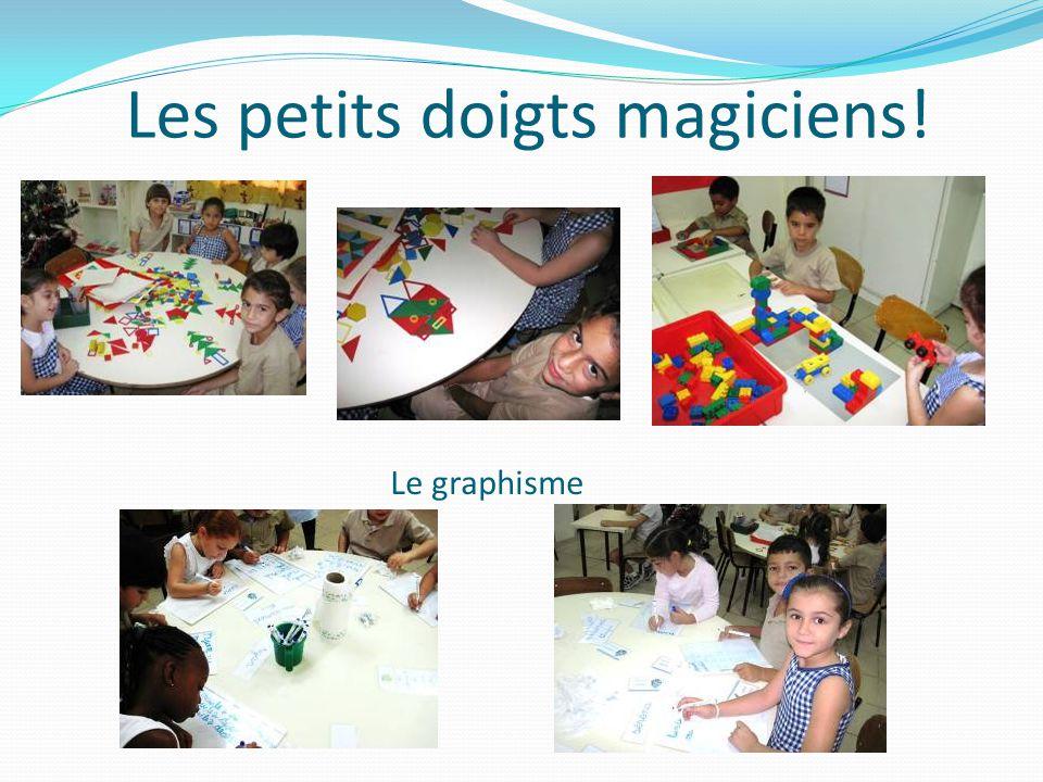 Le graphisme Les petits doigts magiciens!
