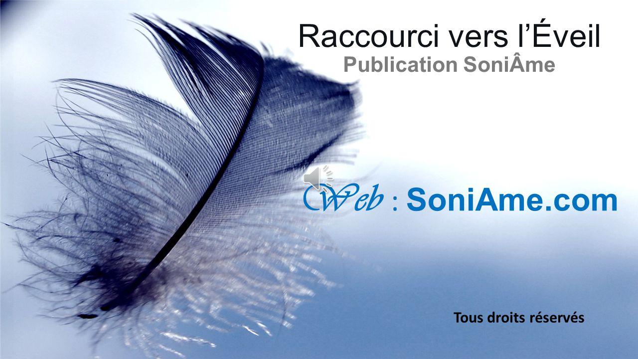 Raccourci vers l'Éveil Publication SoniÂme Tous droits réservés Web : SoniAme.com