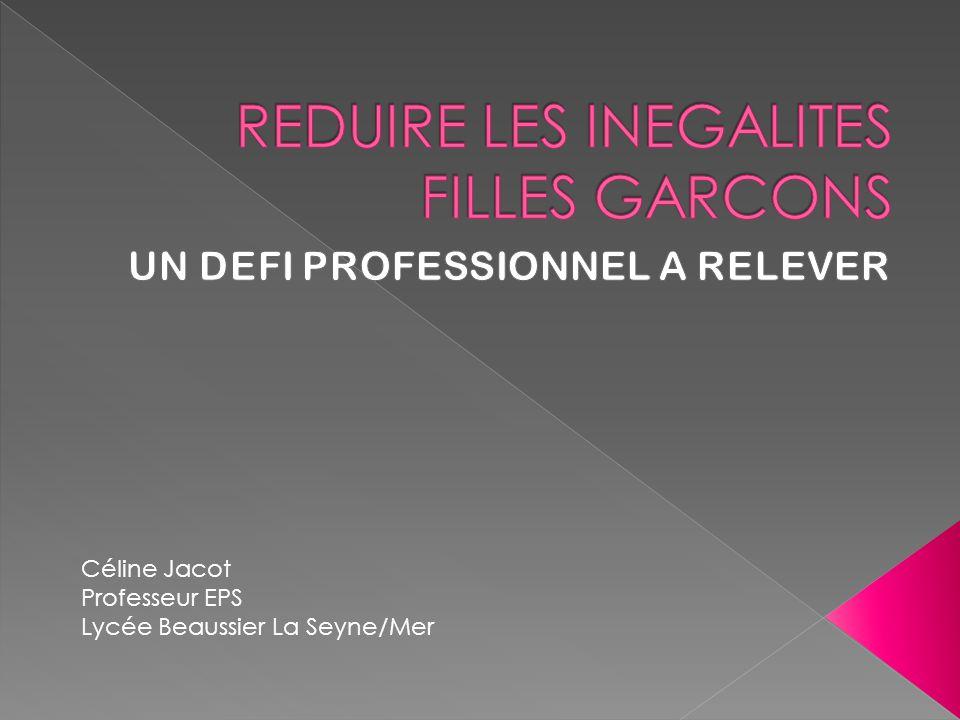 Céline Jacot Professeur EPS Lycée Beaussier La Seyne/Mer