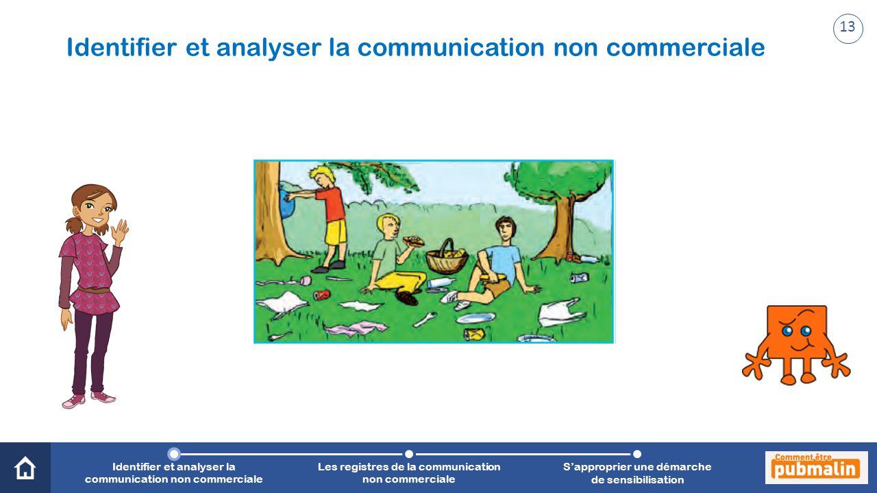 Trimestre 2 - Sensibilisation, prévention, citoyenneté : une communication engagée Identifier et analyser la communication non commerciale Les registr