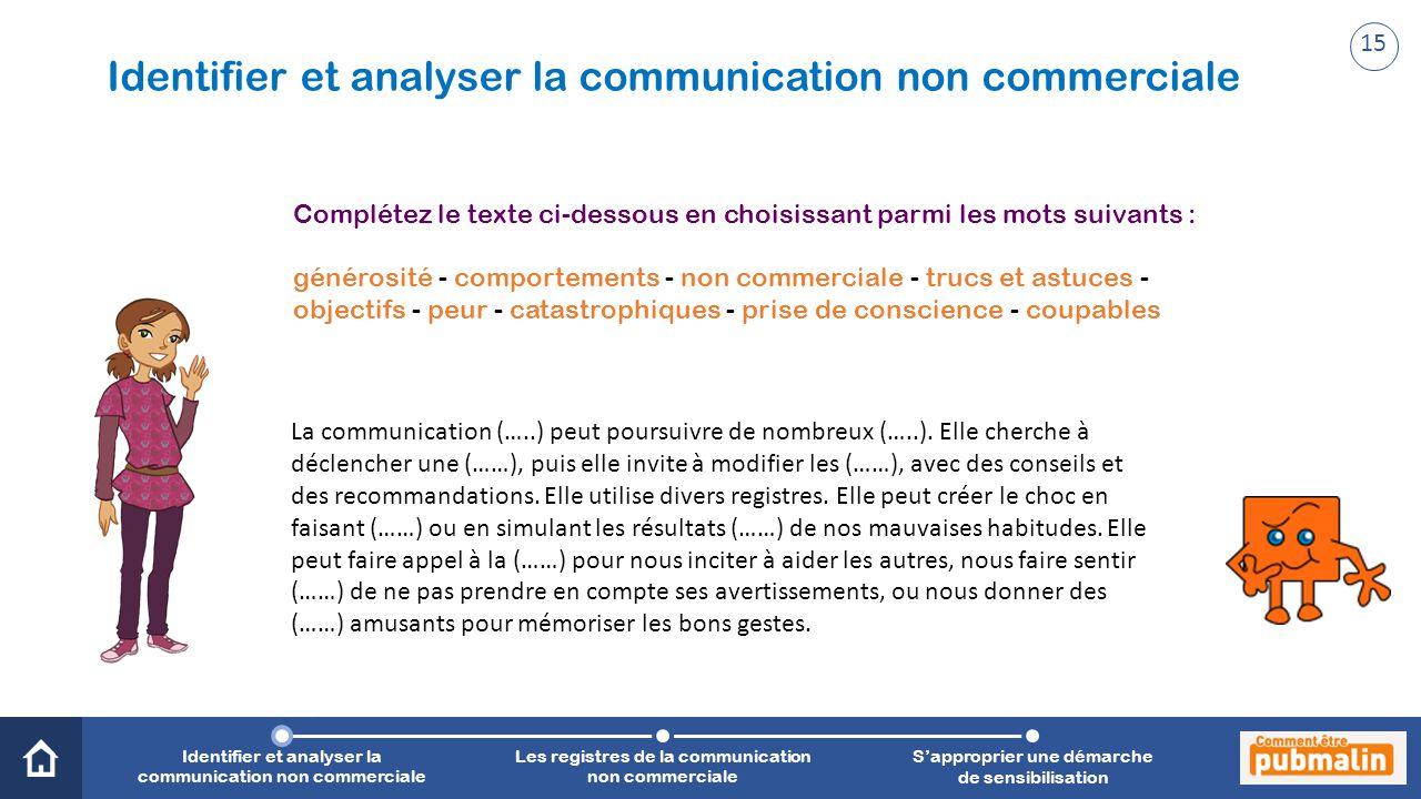 Trimestre 2 - Sensibilisation, prévention, citoyenneté : une communication engagée La communication (…..) peut poursuivre de nombreux (…..). Elle cher