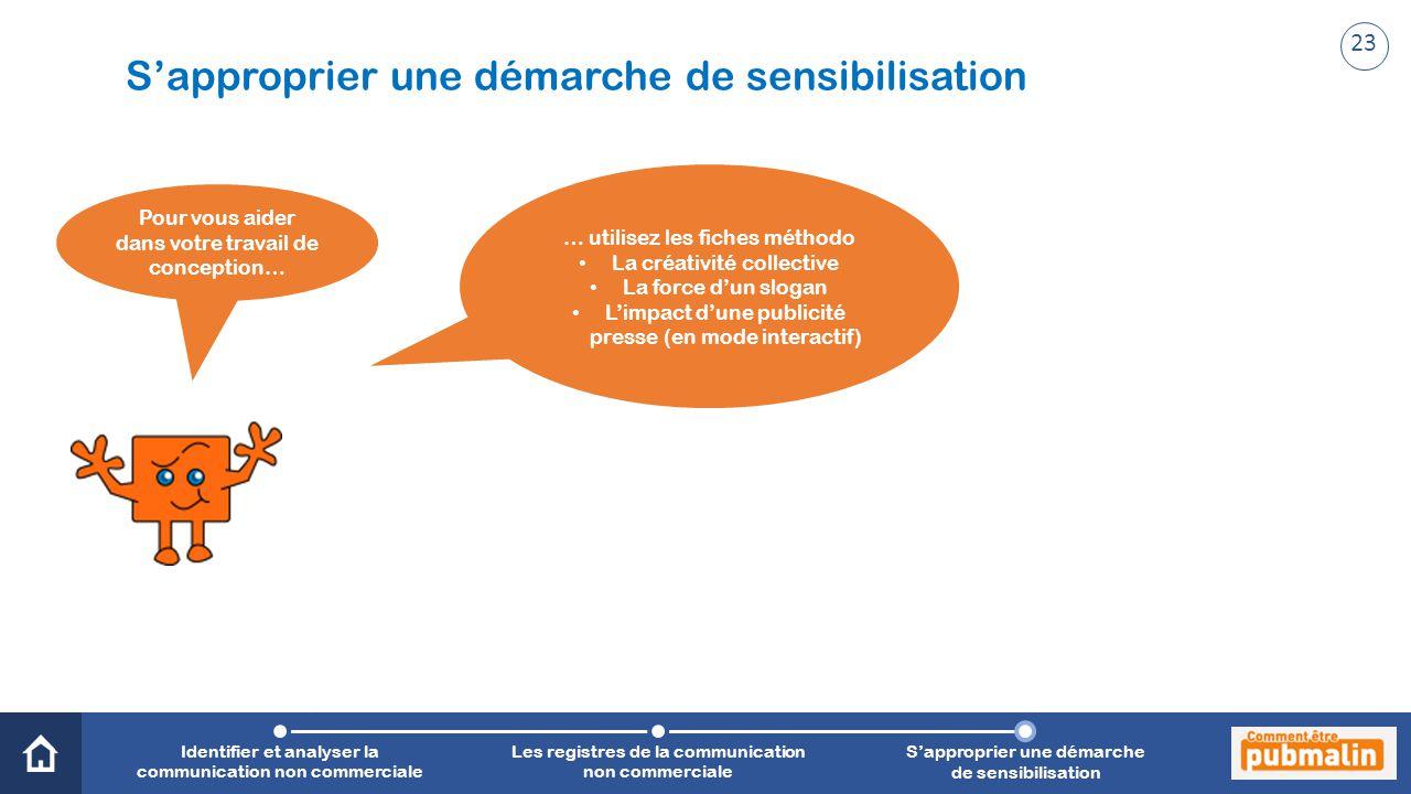 Trimestre 2 - Sensibilisation, prévention, citoyenneté : une communication engagée Pour vous aider dans votre travail de conception… … utilisez les fi