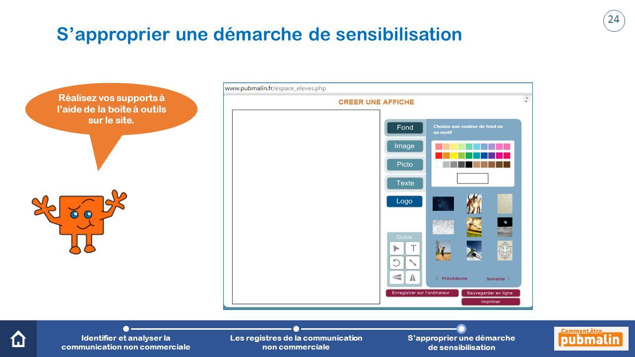 Trimestre 2 - Sensibilisation, prévention, citoyenneté : une communication engagée Réalisez vos supports à l'aide de la boîte à outils sur le site. Id