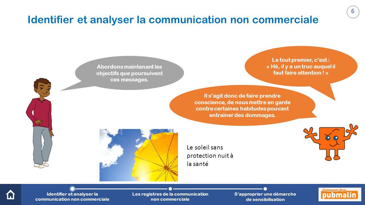 Trimestre 2 - Sensibilisation, prévention, citoyenneté : une communication engagée Abordons maintenant les objectifs que poursuivent ces messages.