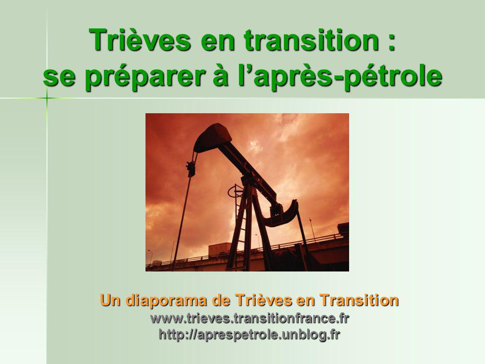Un diaporama de Trièves en Transition www.trieves.transitionfrance.frhttp://aprespetrole.unblog.fr Trièves en transition : se préparer à l'après-pétro